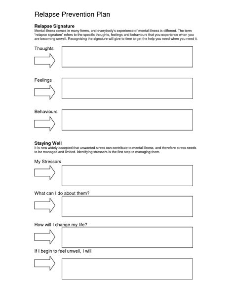 free worksheets for recovery relapse prevention addiction free worksheets for recovery relapse prevention addiction