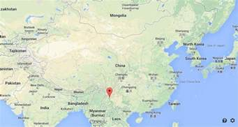 on map dali on map of china easy guides