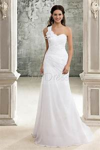 Tbdress blog selecting the cheap clothing store for best for One shoulder wedding dress