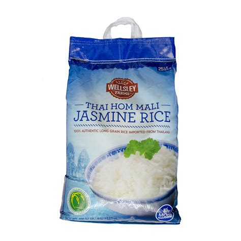 Wellsley Farms Thai Hom Mali Jasmine Rice  Lb  Ee  Bjs Ee