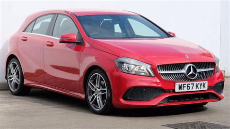 Glb 200 d 4matic progressive. Used MERCEDES-BENZ A CLASS A200d AMG Line 5dr | Red | WF67KYK | Manchester