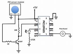 gt circuits gt motion sensor using pir sensor module l30270 With motion sensor light wiring diagram moreover motion activated led light