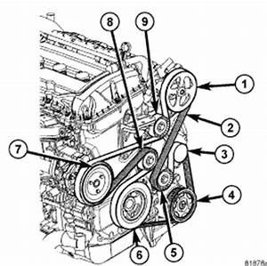 2007 Dodge Nitro 3 7 Serpentine Belt Diagram