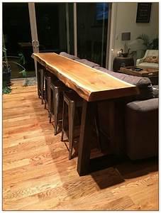Table Bar But : behind the couch bar table ~ Teatrodelosmanantiales.com Idées de Décoration