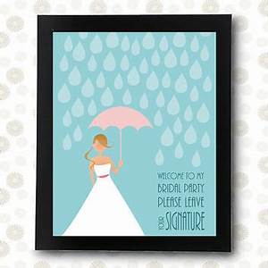 wedding guest book instant download from rocknprint on etsy With wedding shower guest book ideas