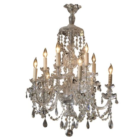 waterford style all chandelier antiques for sale