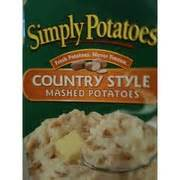 Simply Potatoes Mashed Potatoes, Country Style Calories