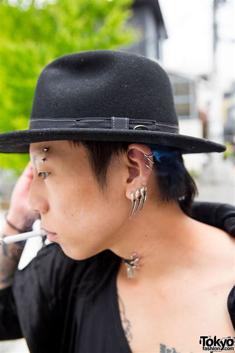 harajuku guys piercings tattoos  julius boy london