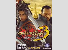 Onimusha 3 Demon Siege 2004 PlayStation 2 box cover art