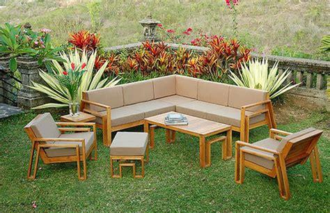 outdoor teak furniture finish interior design ideas