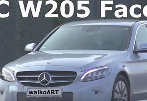 Mercedes Classe C Restylée 2018 : photos mercedes classe c 2018 sans camouflage moniteur automobile ~ Maxctalentgroup.com Avis de Voitures