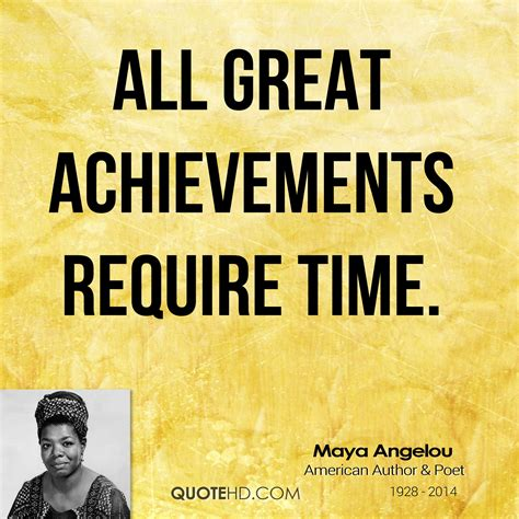 Maya Angelou Time Quotes | QuoteHD