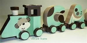 eleven letter wooden magnetic alphabet name train keepsake With magnetic name train letters