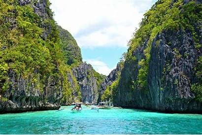 Island Philippines Palawan Lagoon Nido El Miniloc