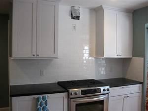 [Decoration Kitchen White Glass Subway Tile Murals