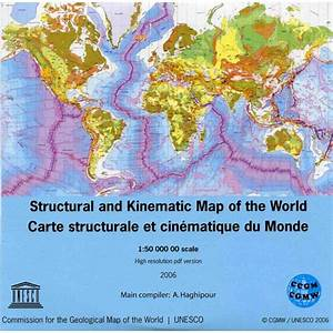 polar size chart structural and kinematic map of the world ccgm cgmw