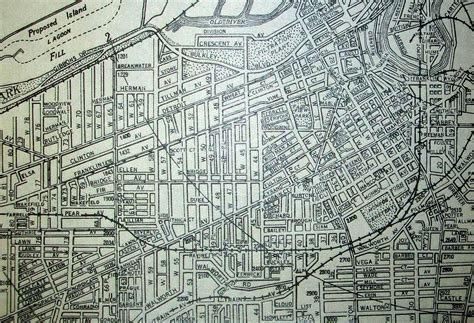 and white bedroom furniture cleveland oh 1930 map by the cleveland directory company