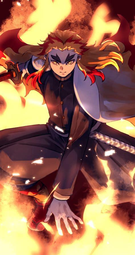 Kimetsu no yaiba hd wallpapers anime new tab. 1080x2040 Kyojuro Rengoku From Demon Slayer 1080x2040 ...