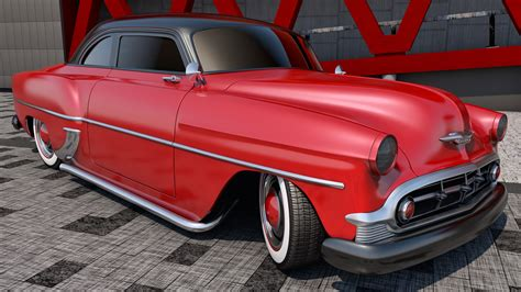 1953 Chevrolet Club Coupe By Samcurry On Deviantart