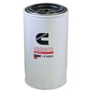 dodge cummins fuel filter change fleetguard lf16035 stratapore filter for 1989 2012 dodge cummins diesel engines