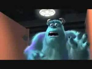 sully and boo scene youtube With monsters inc bathroom scene