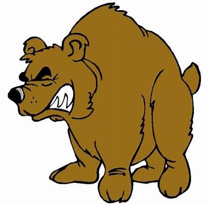 Clipart Bear Angry Cartoon Clipartion