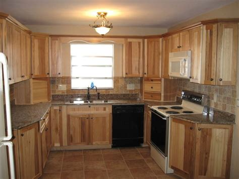 hickory kitchen cabinets hickory kitchen cabinets characteristic materials
