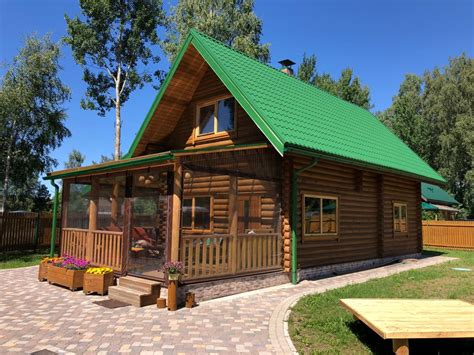 Gatavās koka mājas: ražots Latvijā - Guļbūves Filwud.com