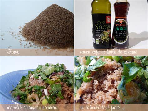 cuisiner avec un rice cooker petit taboulé frais au fonio et à la roquette à voir