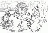 Coloring Farm Printable Popular sketch template