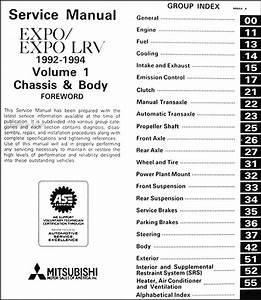 1992 Expo Lrv Service Shop Manual