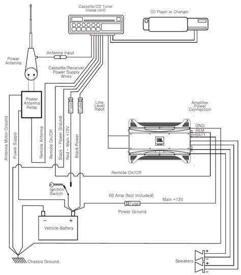 4 channel car lifier wiring diagram 38 wiring diagram