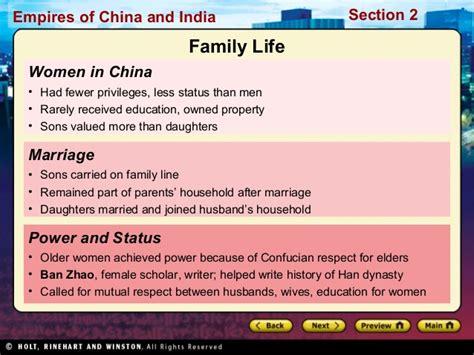 han china social structure