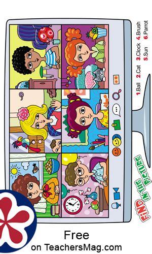 zoom  spy  differences game  children teachersmagcom