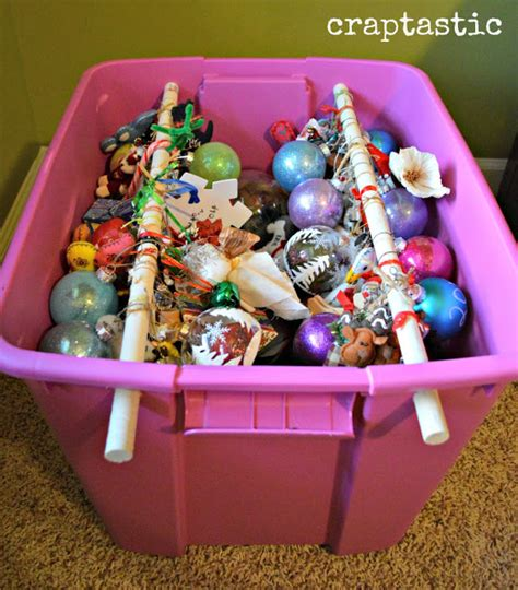 smart ways  storing organizing christmas decorations