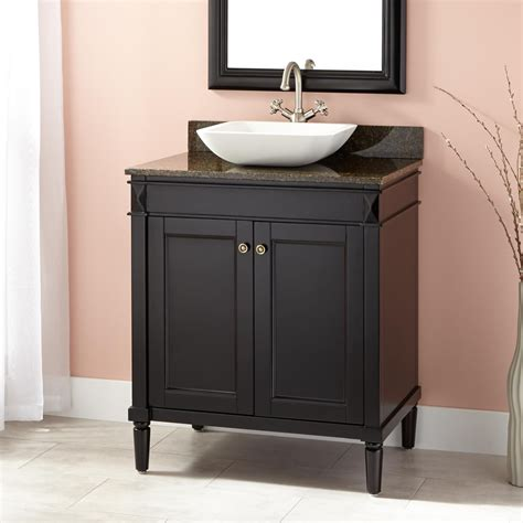 chapman vessel sink vanity espresso bathroom