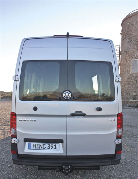 volkswagen crafter back vw crafter a closer look bus coach buyer