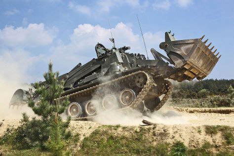 gepanzerter bagger terrier neuer panzer bagger fuer die