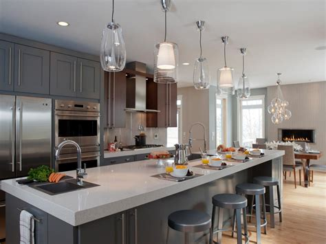modern pendant light fixtures for kitchen photos hgtv 9766