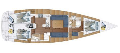 Yacht Innen by Comfortina 46 Comfortina