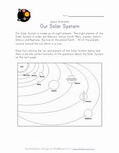 Solar System Worksheet | worksheets for grade 1 and 2 ...