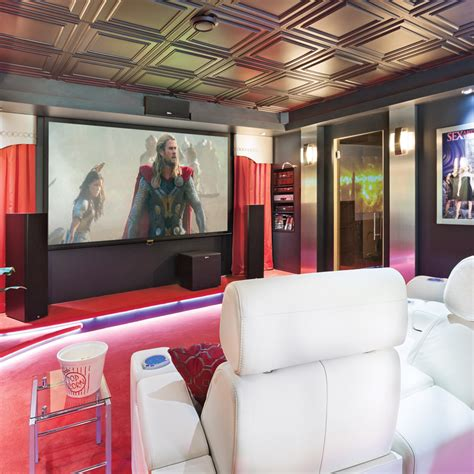 Déco Salle Cinema Maison  Exemples D'aménagements