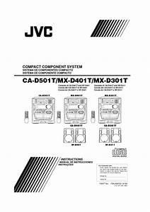 Compact Component System Mx-d401t Manuals