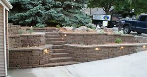 Peter garden designs retaining walls