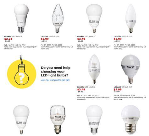 ikea light bulbs 50 9to5toys