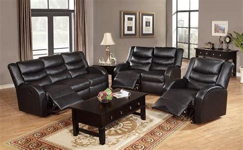 sleeper sofa and reclining loveseat set black leather reclining sleeper sofa set combined with