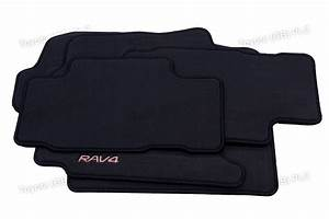 Genuine toyota 4x tailored car textile floor mats rav4 11 for Original toyota floor mats