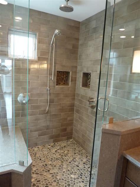 pebble showers a popular choice pebble tile shop