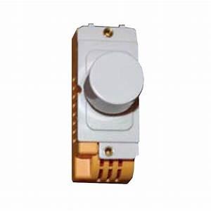 Two Way Fix : hamilton grid fix dimmer module 2 way 400w with white insert at uk electrical supplies ~ Orissabook.com Haus und Dekorationen
