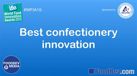 cuisine innovation ife food awards confectionery innovation trends